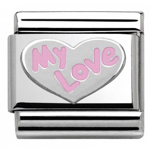 Nomination Classic Charm - My Love Heart Pink