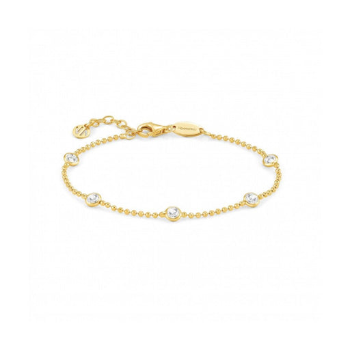 Nomination Bella Gold with Silver Crystals Bracelet