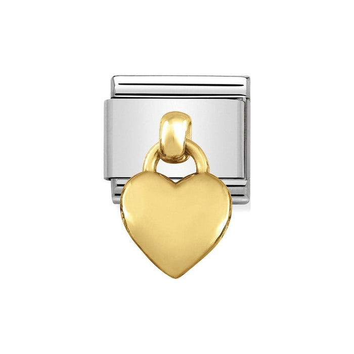 Nomination Classic Charm - Pendant Heart Gold