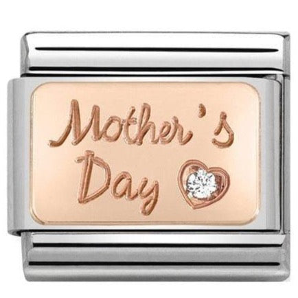 Nomination Classic Charm - Rose Gold Mother's Day
