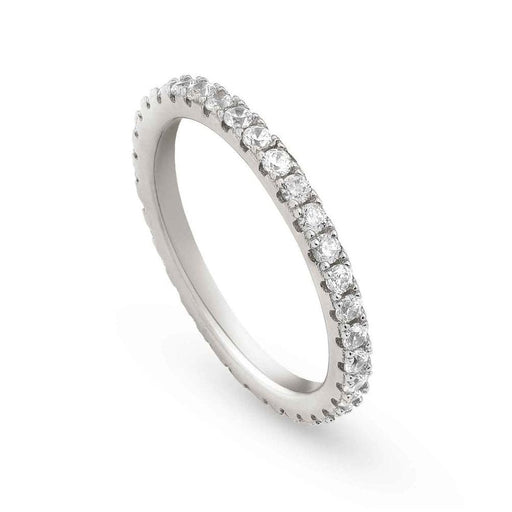 Nomination Easychic Silver & White CZ Ring