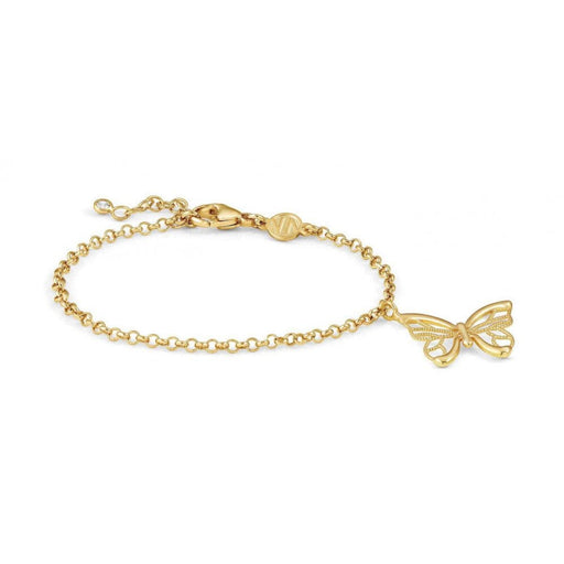 Nomination Primavera Yellow Gold Plated Butterfly Bracelet