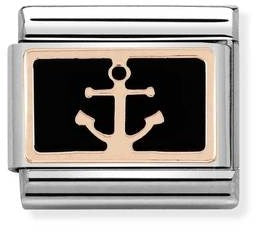 Nomination Classic Charm - Rose Gold Anchor