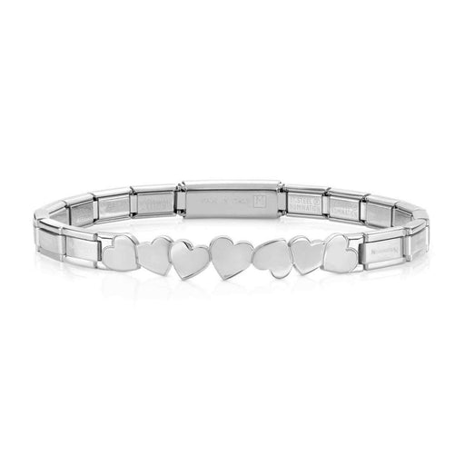 Nomination Trendsetter Stainless Steel Hearts Smarty Bracelet