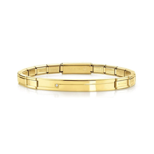 Nomination Trendsetter Yellow Gold & CZ Smarty Bracelet