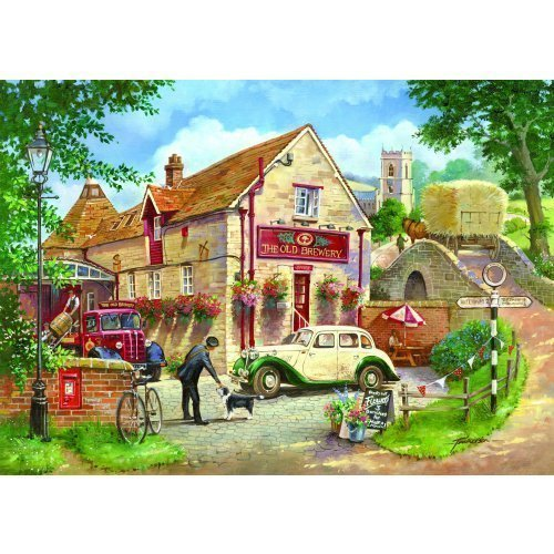 HOP Old Brewery 500 Piece Jigsaw Puzzle