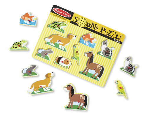 Melissa and Doug Sound Puzzle Pets