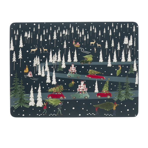 Sophie Allport Home for Christmas Placemats (Set of 4)