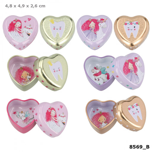 TOPModel Princess Mimi Small Heart Shaped Tin