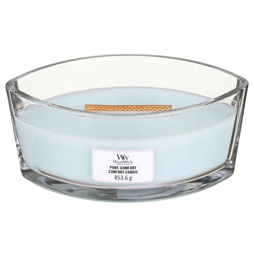 Woodwick Pure Comfort Ellipse Jar Candle