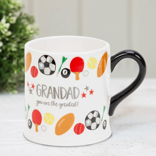 Grandad You Are the Greatest Mug By Wendy Jones Blackett