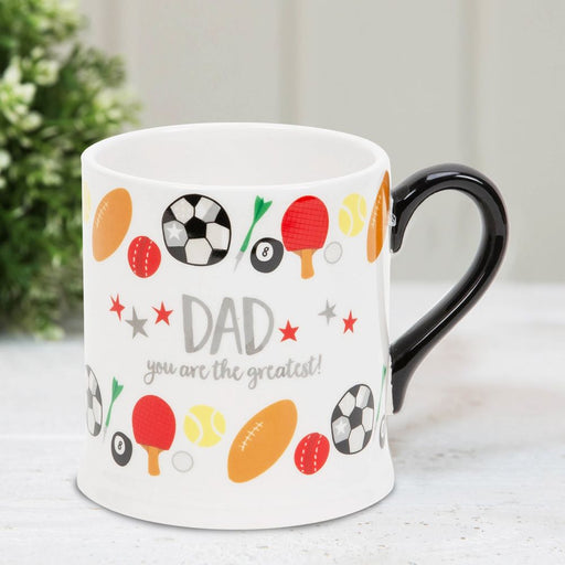 Dad You Are the Greatest Mug By Wendy Jones Blackett