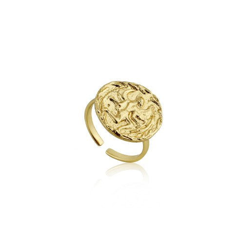 Ania Haie Boreas Adjustable Gold Ring