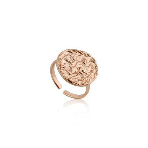 Ania Haie Boreas Adjustable Rose Gold Ring