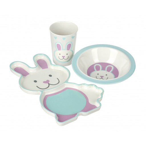 Orange Tree Rabbit Bamboo Dinner Set