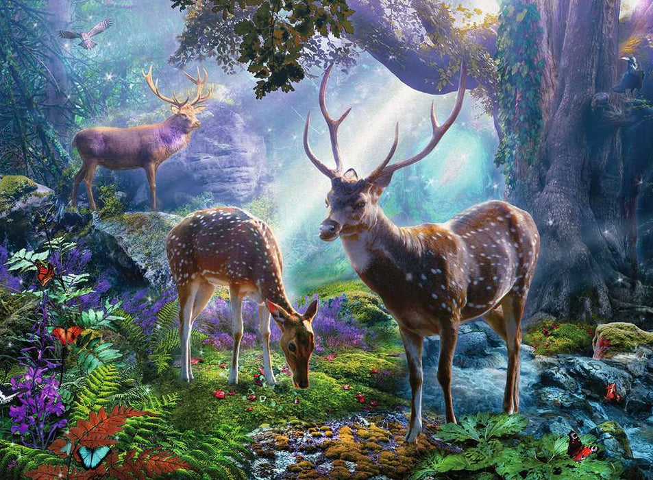 Ravensburger Deer in the Wild 500 Piece Jigsaw Puzzle
