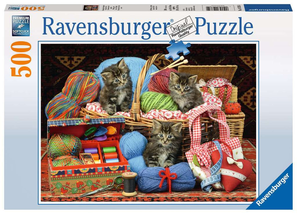 Ravensburger Knitter's Delight 500 Piece Jigsaw Puzzle