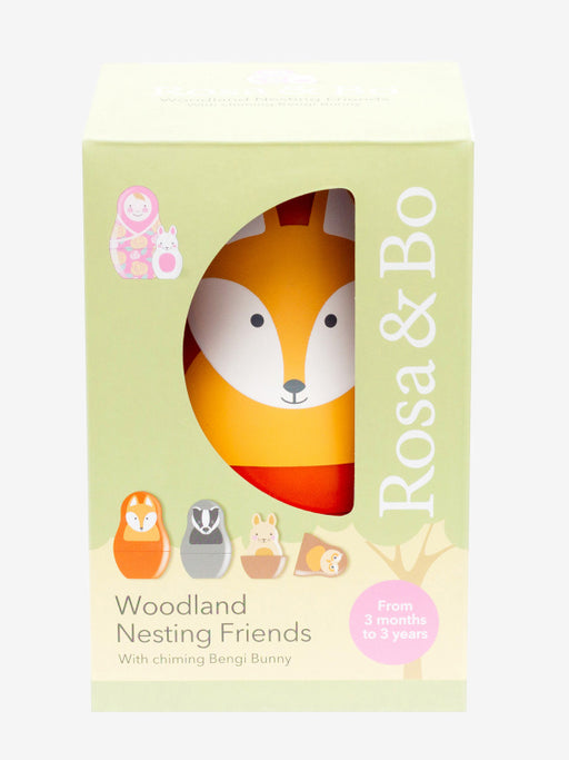 Rosa and Bo Woodland Nesting Dolls