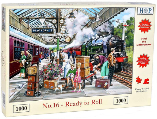 HOP Ready to Roll 1000 Piece Jigsaw Puzzle