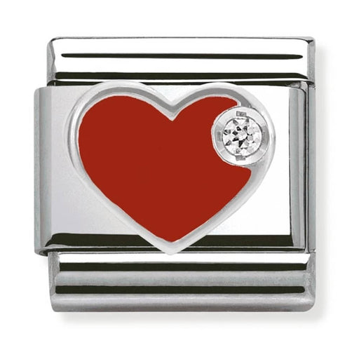 Nomination Classic Charm - Red Heart