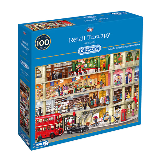 Gibsons Retail Therapy 1000pc Jigsaw Puzzle
