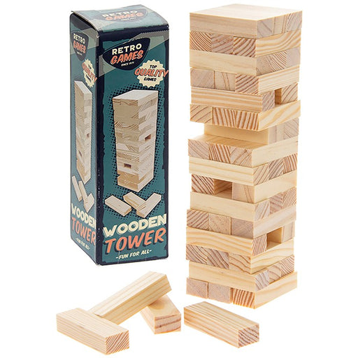 Retro Games Wooden Tower