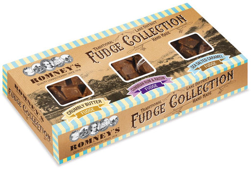 Romneys Fudge Collection Triple Pack Gift Box