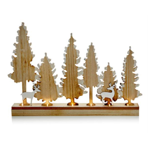 Deer-Tree Table Top Scene