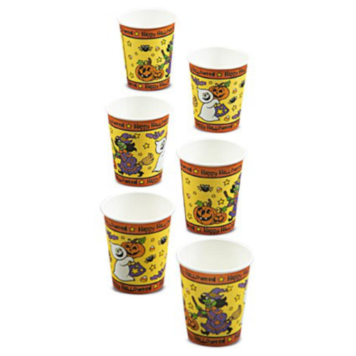 Halloween Pumpkin Party Paper Cups