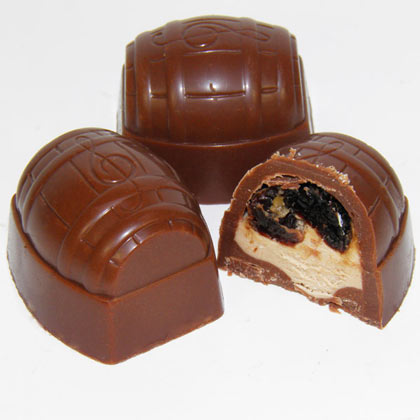 Milk Chocolate Rum & Raisin Cream (£4.50 per 100g)