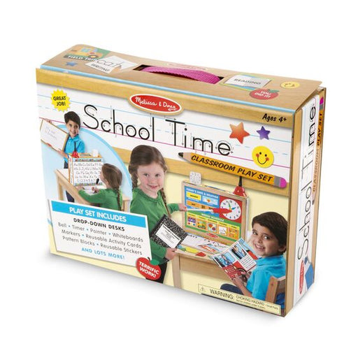 Melissa and Doug School Time! Classroom Play Set