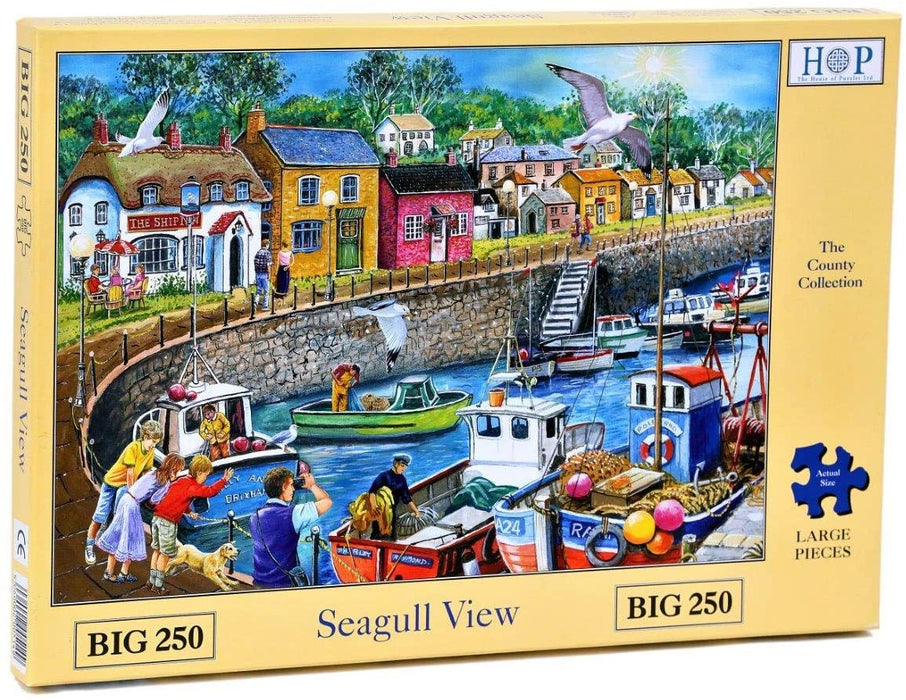 HOP Seagull View Big 250 Piece Jigsaw Puzzle
