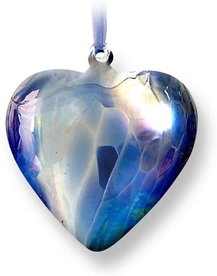 Nobile Glassware Birth Gem Heart - September