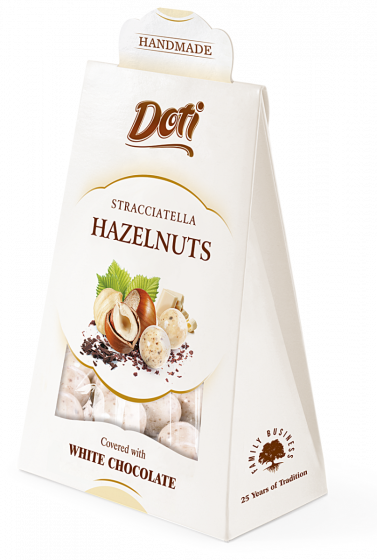 Doti Stracciatella Hazelnuts in White Chocolate