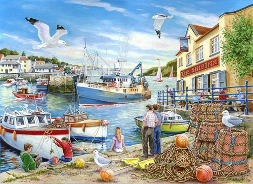 HOP Ship Inn 1000 Piece Jigsaw Puzzle