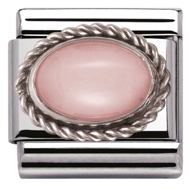 Nomination Classic Charm - Pink Opaline Charm