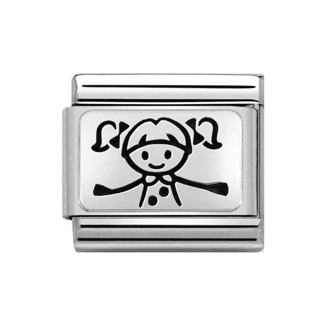 Nomination Classic Charm - Silver Girl