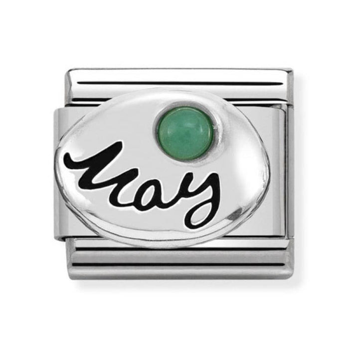 Nomination Classic Charm - May Emerald Birthstone Charm