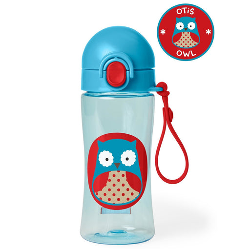 Skip Hop Zoo Owl Lock-Top Sports Bottle