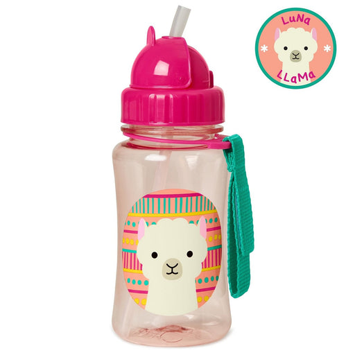 Skip Hop Zoo Llama Straw Bottle