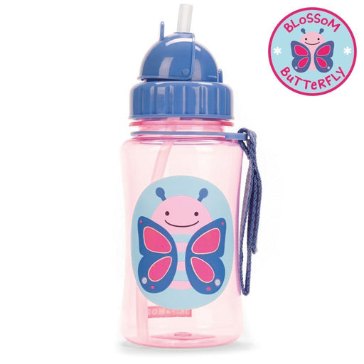 Skip Hop Zoo Butterfly Straw Bottle