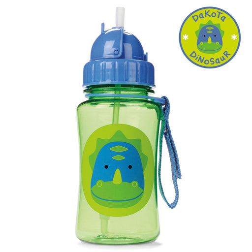 Skip Hop Zoo Dino Straw Bottle
