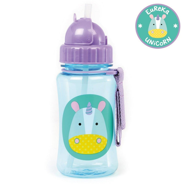 Skip Hop Zoo Unicorn Straw Bottle