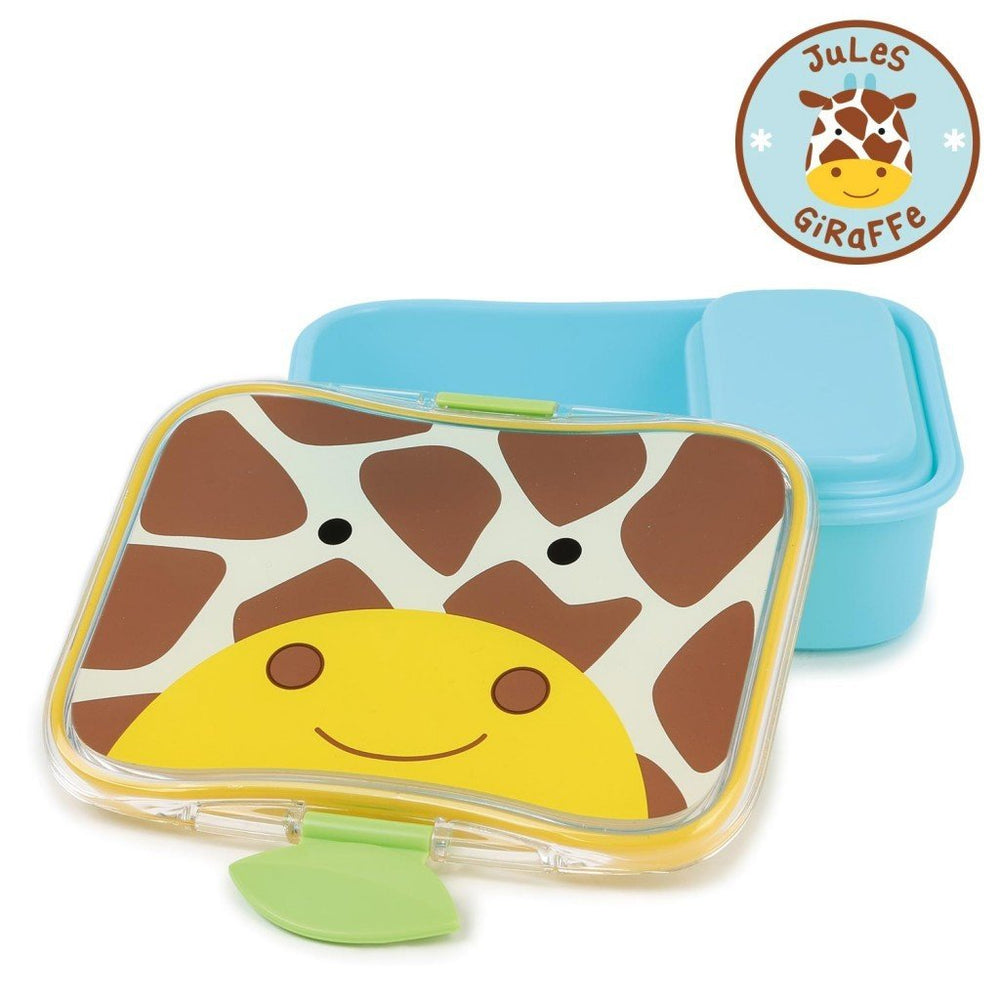 Skip Hop Zoo Giraffe Little Kid Lunch Kit