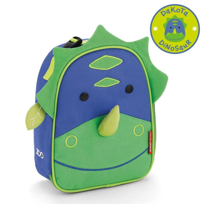 Skip Hop Zoo Dino Lunchie Insulated Kids Lunch Bag