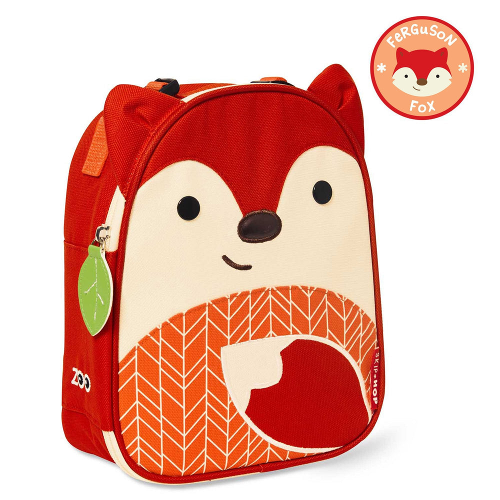 Skip Hop Zoo Fox Lunchie Insulated Kids Lunch Bag