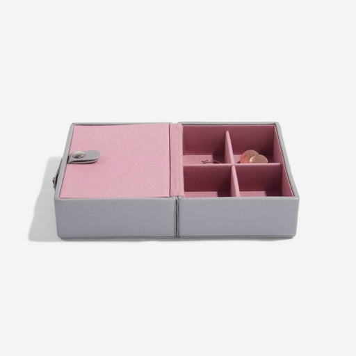 Stackers Grey Rose Travel Jewellery Box