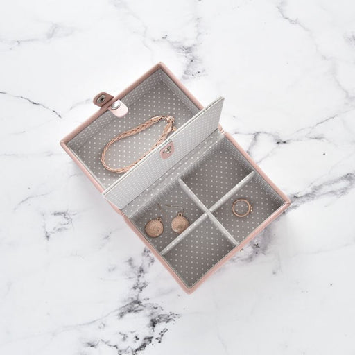 Stackers Soft Pink Travel Jewellery Box