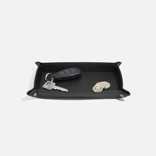 Stackers Black Travel Catchall