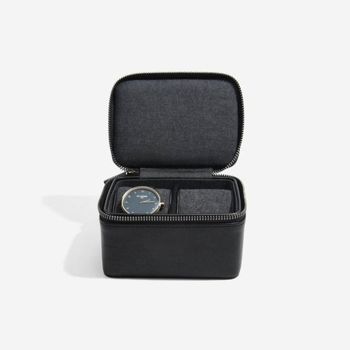 Stackers Black Large Travel Watch Box